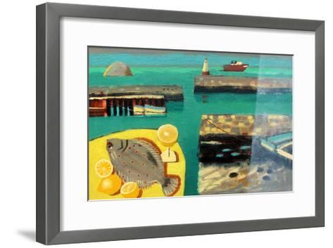 Harbour-Sara Hayward-Framed Art Print
