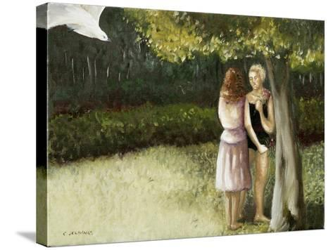 Forest Annunciation, 1, 2005-Caroline Jennings-Stretched Canvas Print