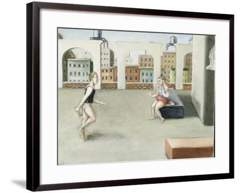 Rooftop Annunciation, 5, 2005-Caroline Jennings-Framed Art Print