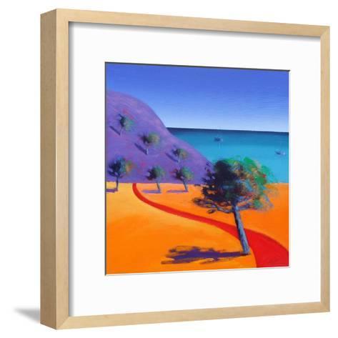 Red Path-Paul Powis-Framed Art Print