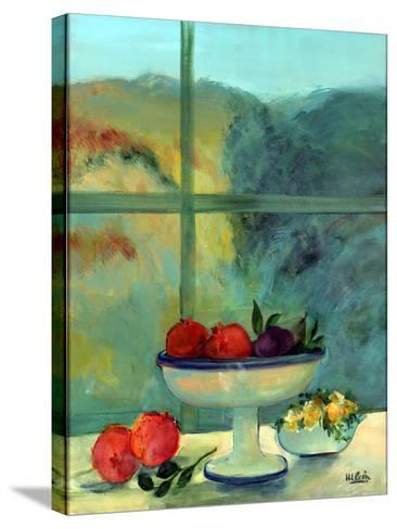 Interior with Window and Bowl-Marisa Leon-Stretched Canvas Print