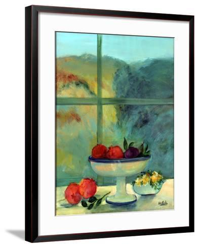 Interior with Window and Bowl-Marisa Leon-Framed Art Print