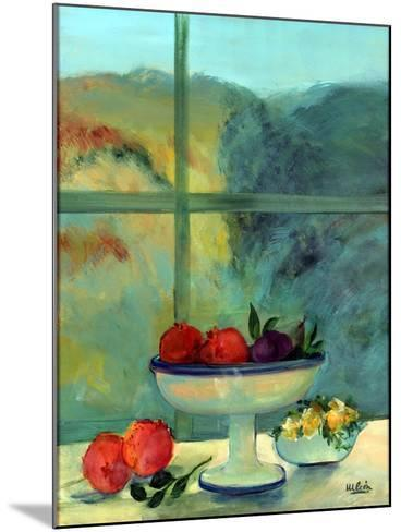 Interior with Window and Bowl-Marisa Leon-Mounted Giclee Print