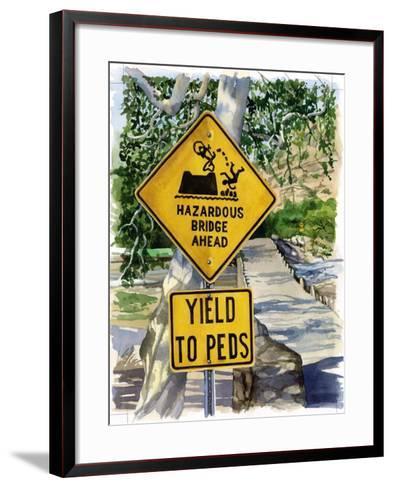 Sabino Canyon, 2004-Lucy Masterman-Framed Art Print