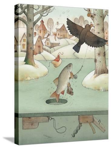 Fishing, 2003-Kestutis Kasparavicius-Stretched Canvas Print