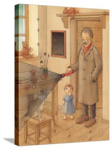 Lantern, 2005-Kestutis Kasparavicius-Stretched Canvas Print