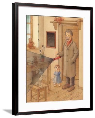 Lantern, 2005-Kestutis Kasparavicius-Framed Art Print