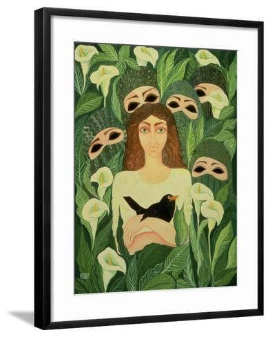 The Prisoner, 1988-Laila Shawa-Framed Art Print
