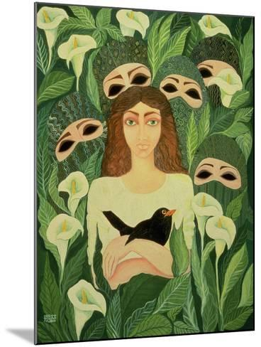 The Prisoner, 1988-Laila Shawa-Mounted Giclee Print