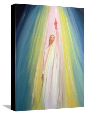 Jesus Christ Points Us to God the Father, 1995-Elizabeth Wang-Stretched Canvas Print
