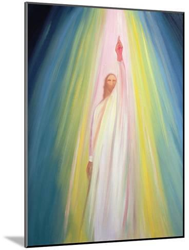 Jesus Christ Points Us to God the Father, 1995-Elizabeth Wang-Mounted Giclee Print