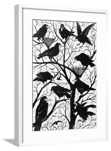 Rooks, 1998-Nat Morley-Framed Art Print