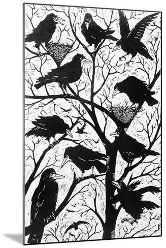 Rooks, 1998-Nat Morley-Mounted Giclee Print
