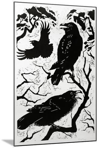 Ravens, 1998-Nat Morley-Mounted Giclee Print
