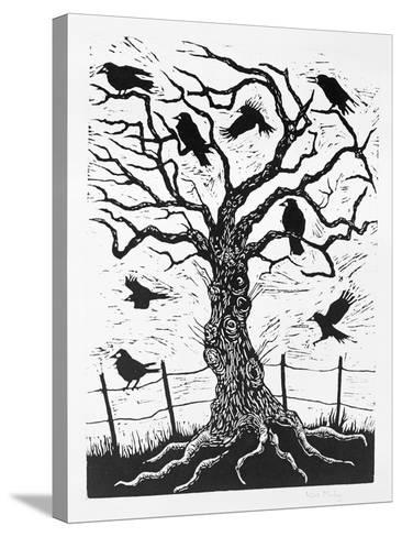 Rook Tree, 1999-Nat Morley-Stretched Canvas Print