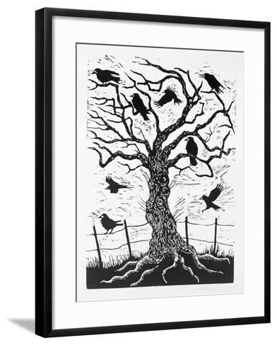 Rook Tree, 1999-Nat Morley-Framed Art Print