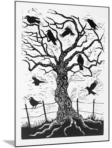 Rook Tree, 1999-Nat Morley-Mounted Giclee Print