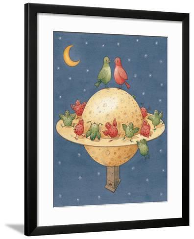 Planet, 2003-Kestutis Kasparavicius-Framed Art Print