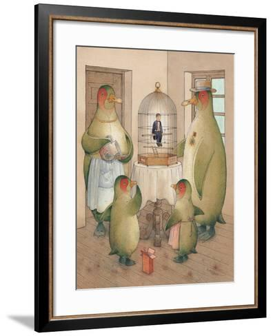 Songman, 2003-Kestutis Kasparavicius-Framed Art Print