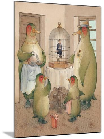 Songman, 2003-Kestutis Kasparavicius-Mounted Giclee Print