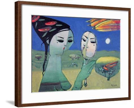 Reflection-Endre Roder-Framed Art Print