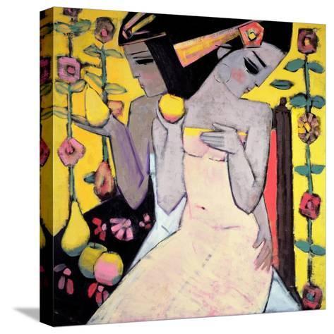 A Golden Apple-Endre Roder-Stretched Canvas Print