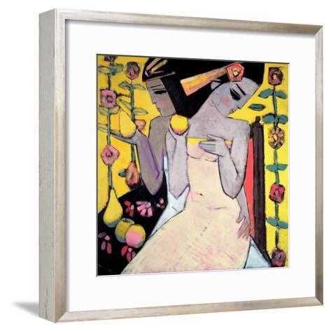 A Golden Apple-Endre Roder-Framed Art Print