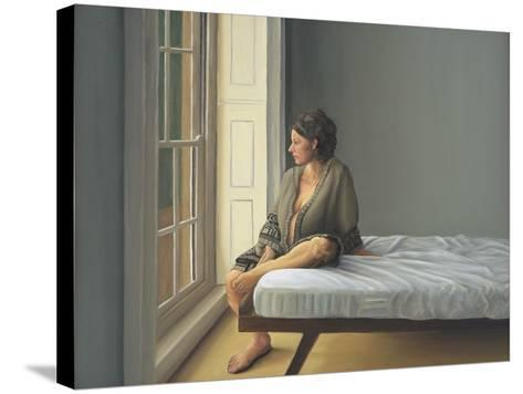 Simona Pregnant Seated, 2007-Peter Breeden-Stretched Canvas Print