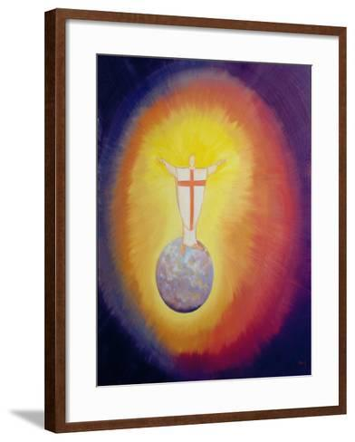 Jesus Christ Is Our High Priest Who Unites Earth with Heaven, 1993-Elizabeth Wang-Framed Art Print