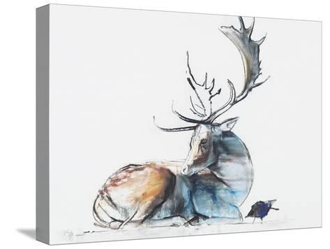 Buck and Bird, 2006-Mark Adlington-Stretched Canvas Print