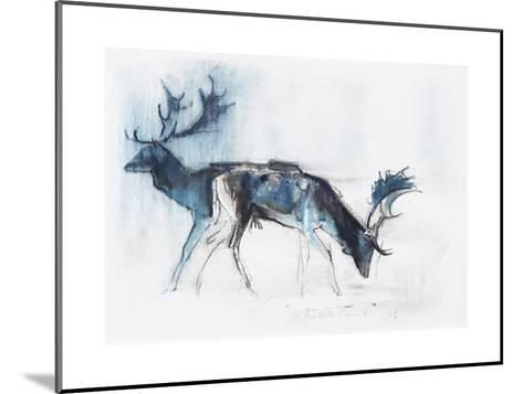 Fallow Bucks, Richmond, 2006-Mark Adlington-Mounted Giclee Print