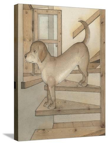 Watchdog, 2003-Kestutis Kasparavicius-Stretched Canvas Print