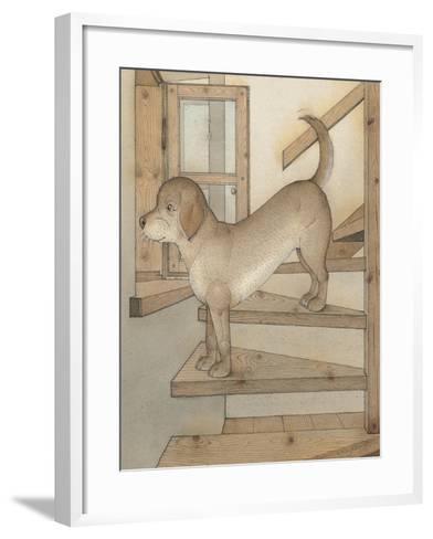 Watchdog, 2003-Kestutis Kasparavicius-Framed Art Print