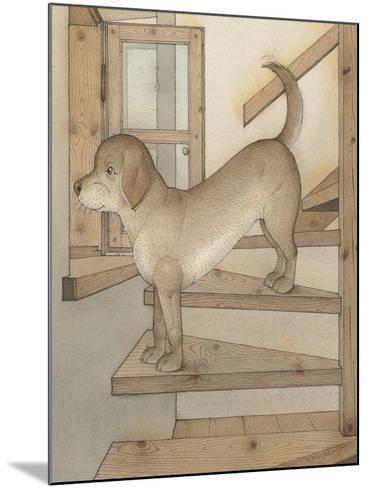 Watchdog, 2003-Kestutis Kasparavicius-Mounted Giclee Print