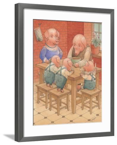 Pigs, 2005-Kestutis Kasparavicius-Framed Art Print