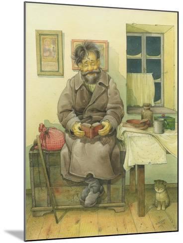 Russian Scene 05, 1994-Kestutis Kasparavicius-Mounted Giclee Print