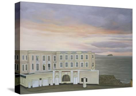 The Royal Pier Hotel, Winters Evening, 2006-Peter Breeden-Stretched Canvas Print