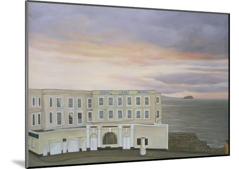 The Royal Pier Hotel, Winters Evening, 2006-Peter Breeden-Mounted Giclee Print