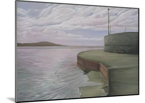 Sea Wall at Weston Looking Towards Breen Down, 2006-Peter Breeden-Mounted Giclee Print