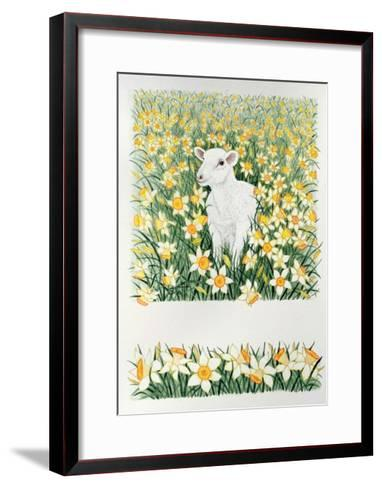 A Spring in the Step-Pat Scott-Framed Art Print