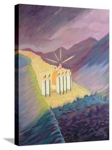 We Walk in the Sacred Tradition, Guided by the Bible and the Teaching of the Church, 1995-Elizabeth Wang-Stretched Canvas Print