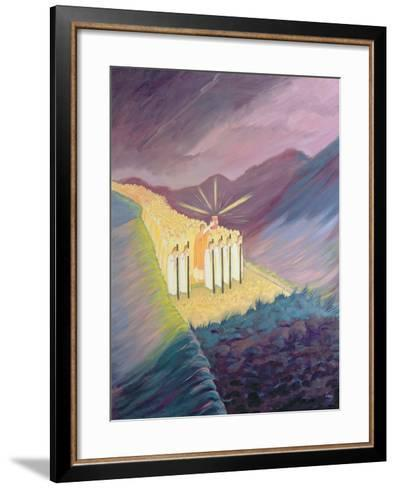 We Walk in the Sacred Tradition, Guided by the Bible and the Teaching of the Church, 1995-Elizabeth Wang-Framed Art Print