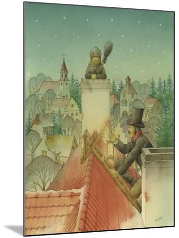 Chimney-Sweep Christmas 02, 2001-Kestutis Kasparavicius-Mounted Giclee Print