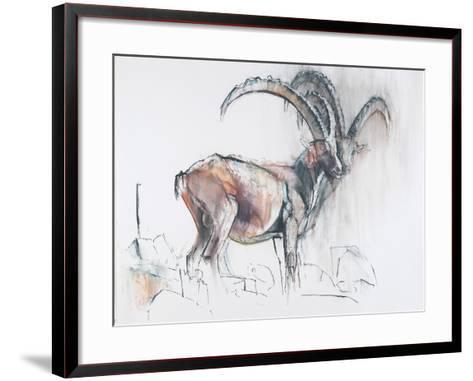 Col Di Vermianaz-Mark Adlington-Framed Art Print