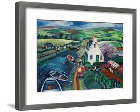 St Catherines Lock-Lisa Graa Jensen-Framed Art Print