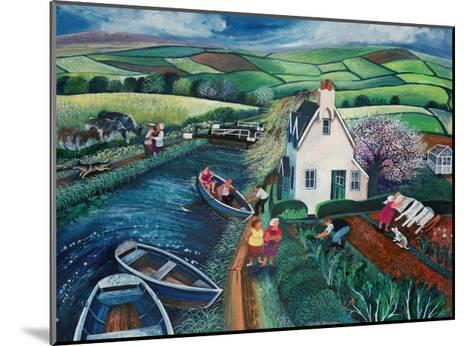 St Catherines Lock-Lisa Graa Jensen-Mounted Giclee Print