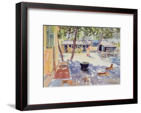 Sunday at the Boy's Home, 1991-Lucy Willis-Framed Art Print