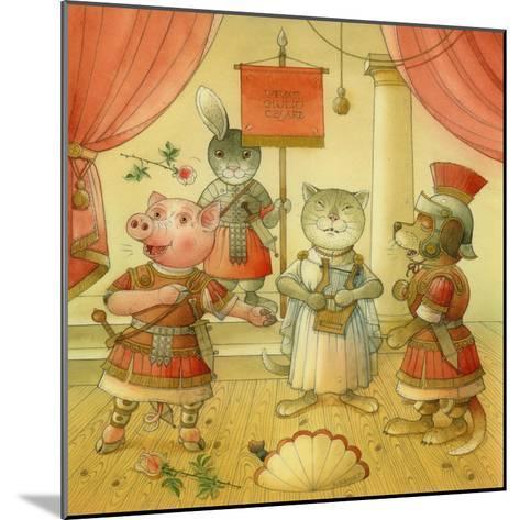 Opera Singers, 2006-Kestutis Kasparavicius-Mounted Giclee Print