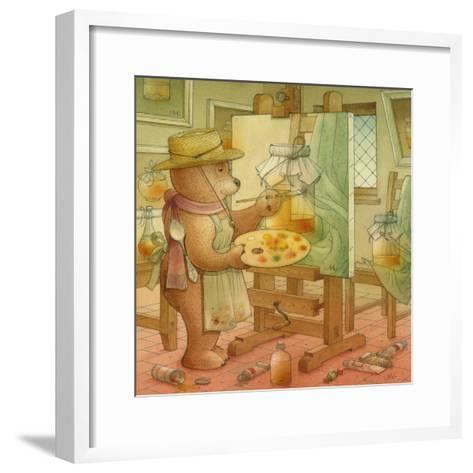 Painter, 2006-Kestutis Kasparavicius-Framed Art Print