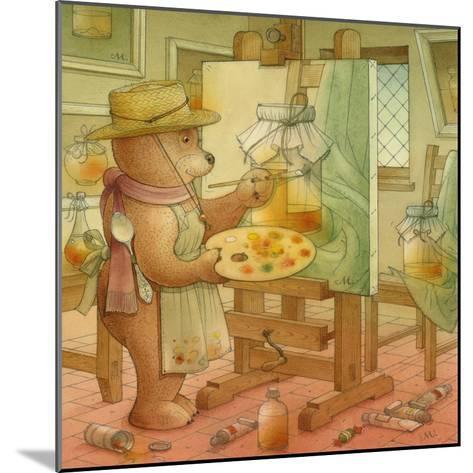 Painter, 2006-Kestutis Kasparavicius-Mounted Giclee Print